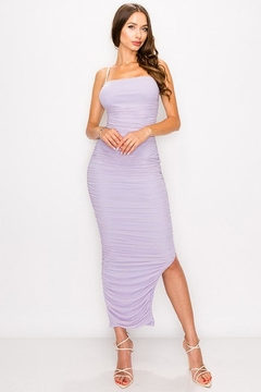 Shoptiques Product: Ruched Mesh Dress