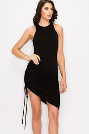 privy Ruched Sleeveless Dress - Product Mini Image