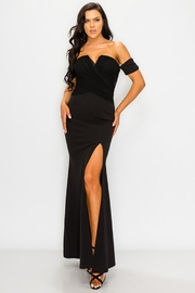 privy V-Wire Open Shoulder Gown - Other