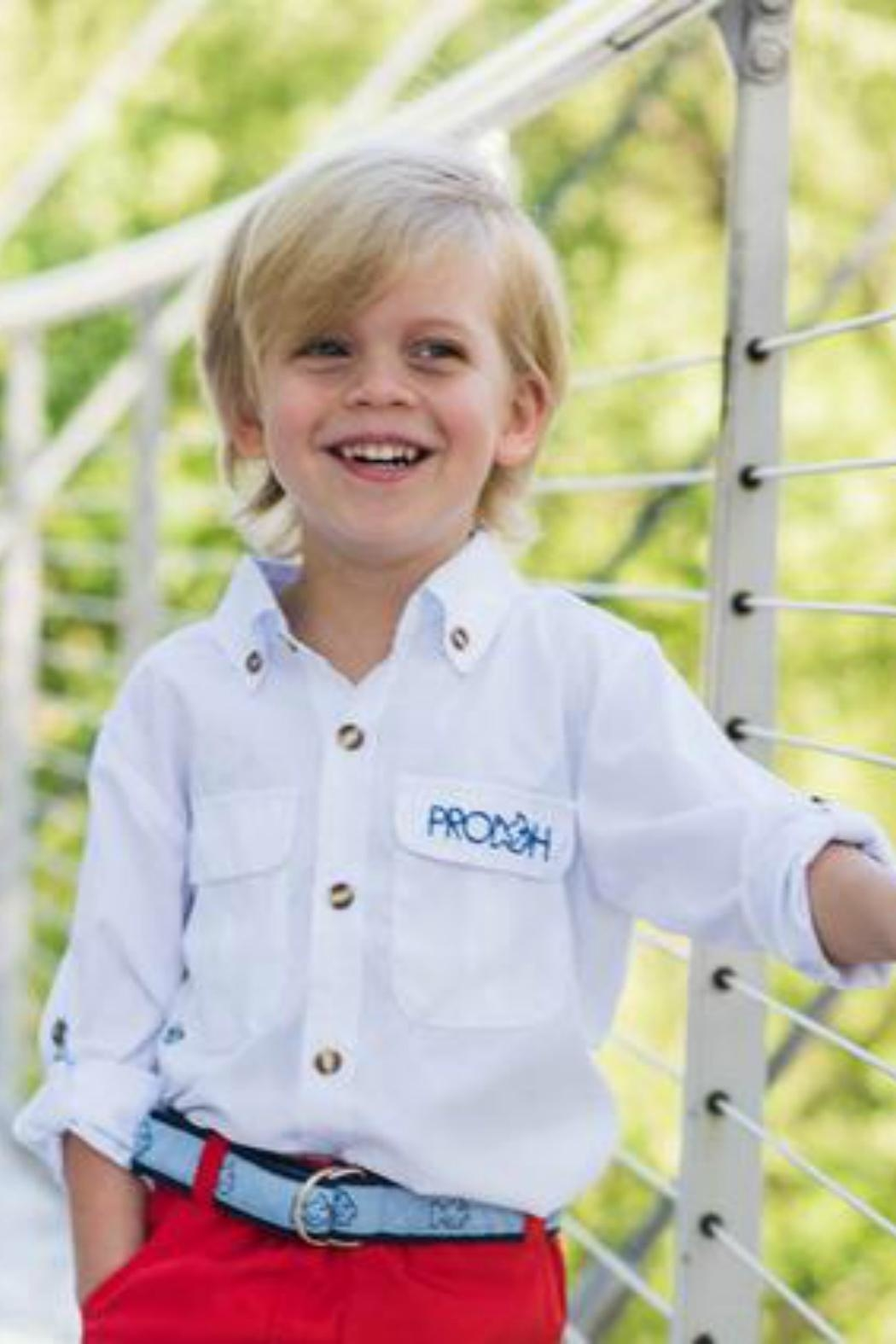 Prodoh boys fishing shirts from alabama by sprout kids for Prodoh fishing shirts
