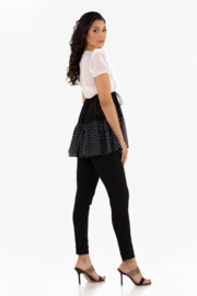 VKY & CO Products Tiered Chiffon Top - Front full body