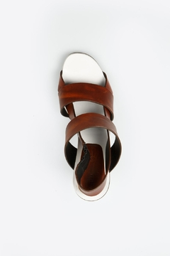 Proenza Schouler Brown Block Heel - Alternate List Image