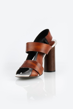 Proenza Schouler Brown Block Heel - Product List Image