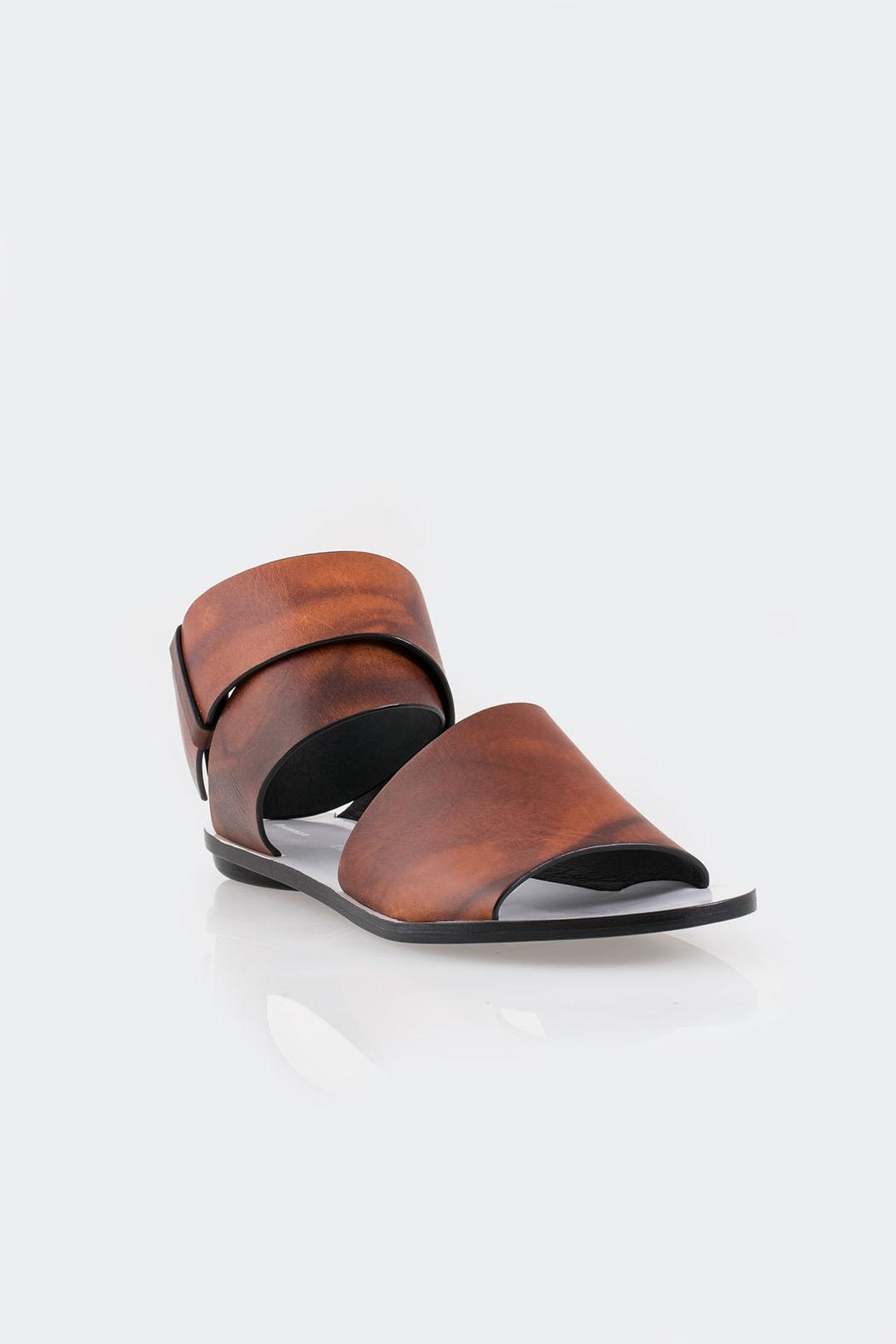 Proenza Schouler Coiled Ankle-Strap Sandal - Side Cropped Image