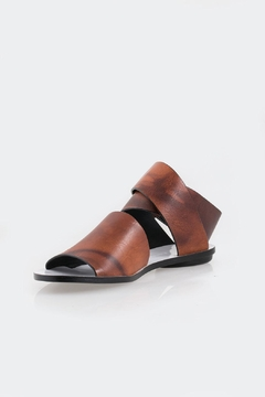 Shoptiques Product: Coiled Ankle-Strap Sandal