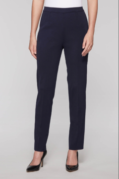 Ming Wang Professional Knit Pant in Indigo - Product List Image