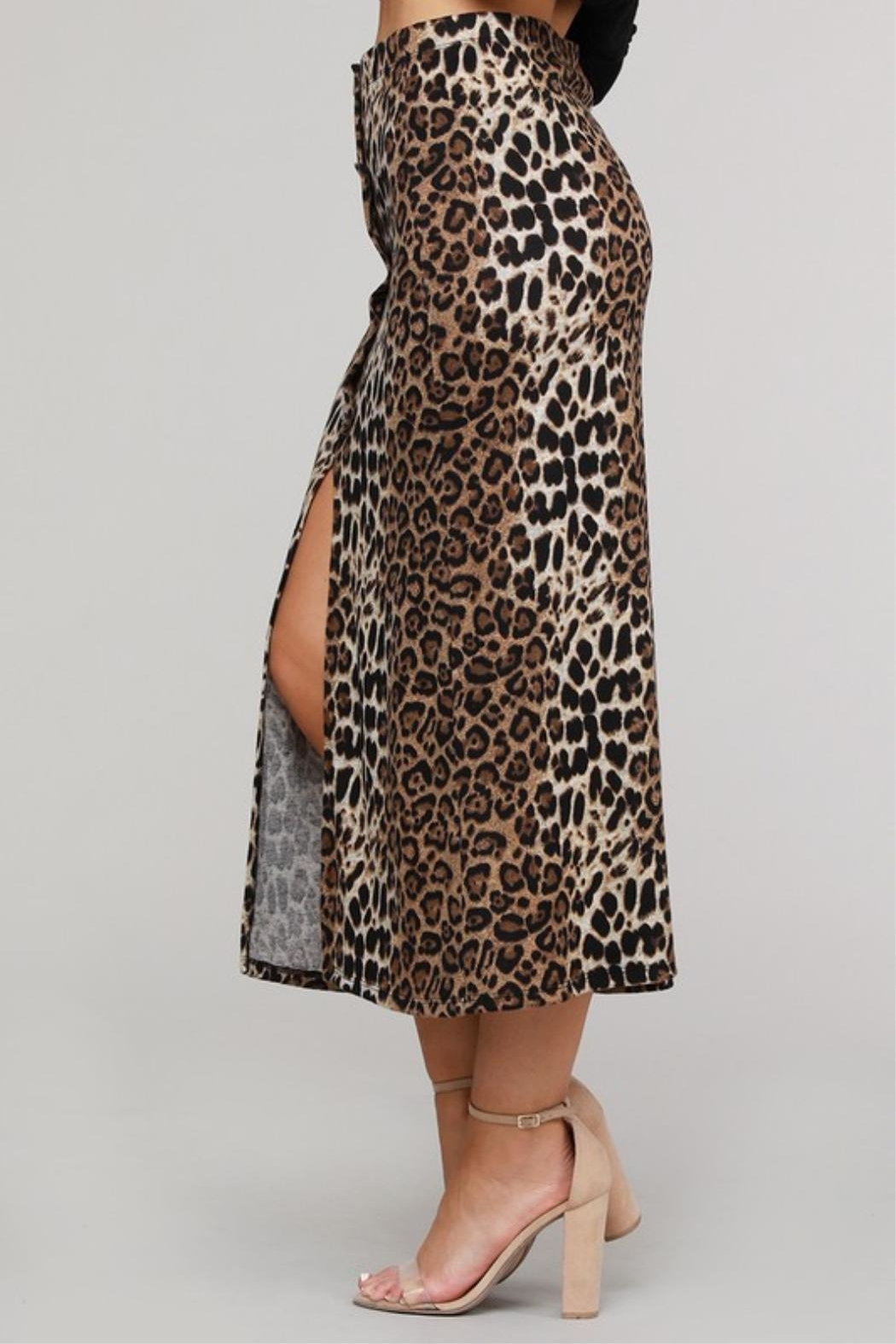 Project Lane Leopard Hacci Midi - Side Cropped Image
