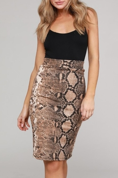 Project Lane Snake Pencil Skirt - Product List Image