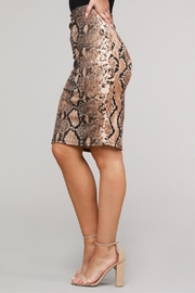 Project Lane Snake Pencil Skirt - Side cropped