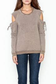 Project Social T Attitude Sweatshirt - Front full body