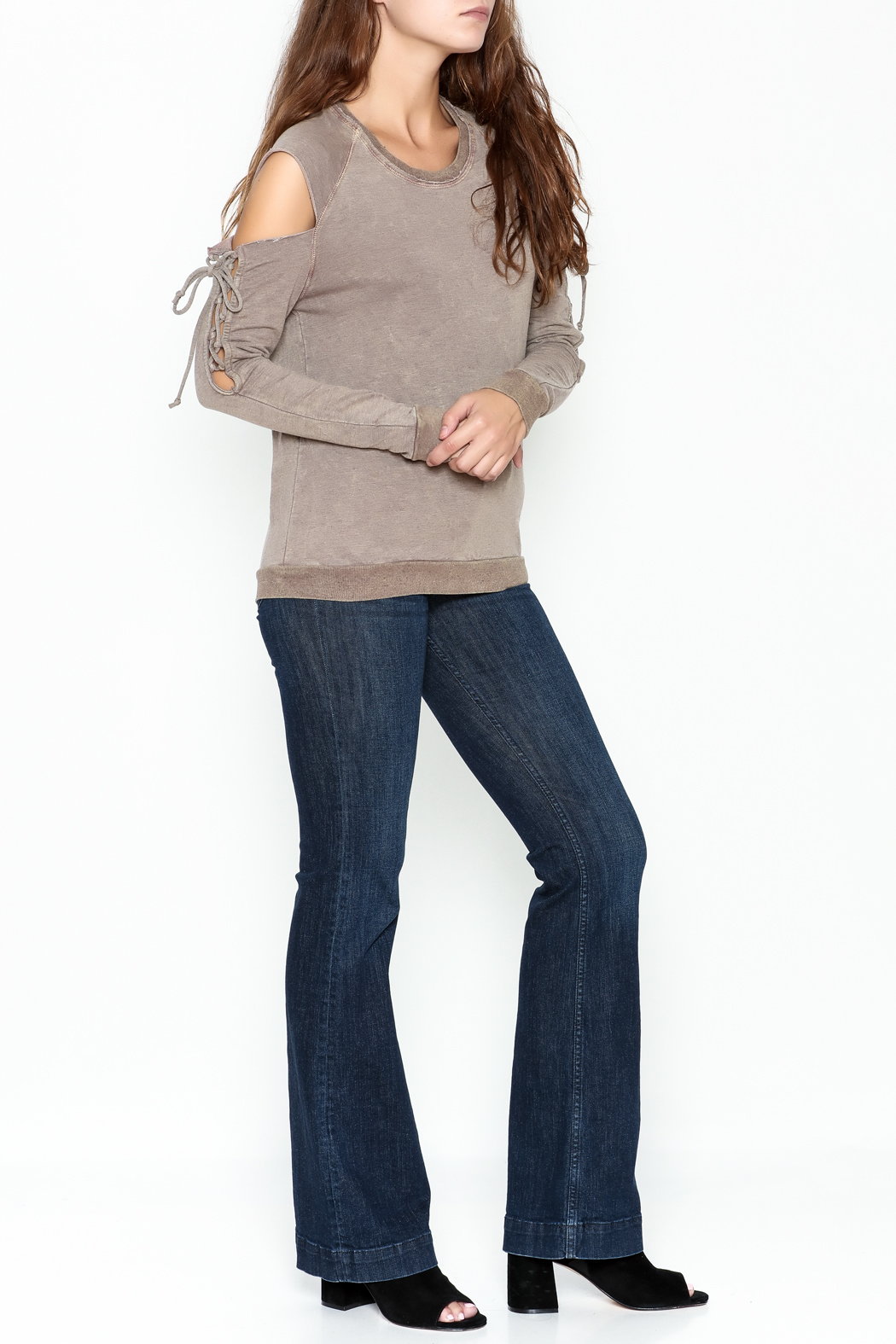 Project Social T Attitude Sweatshirt - Side Cropped Image