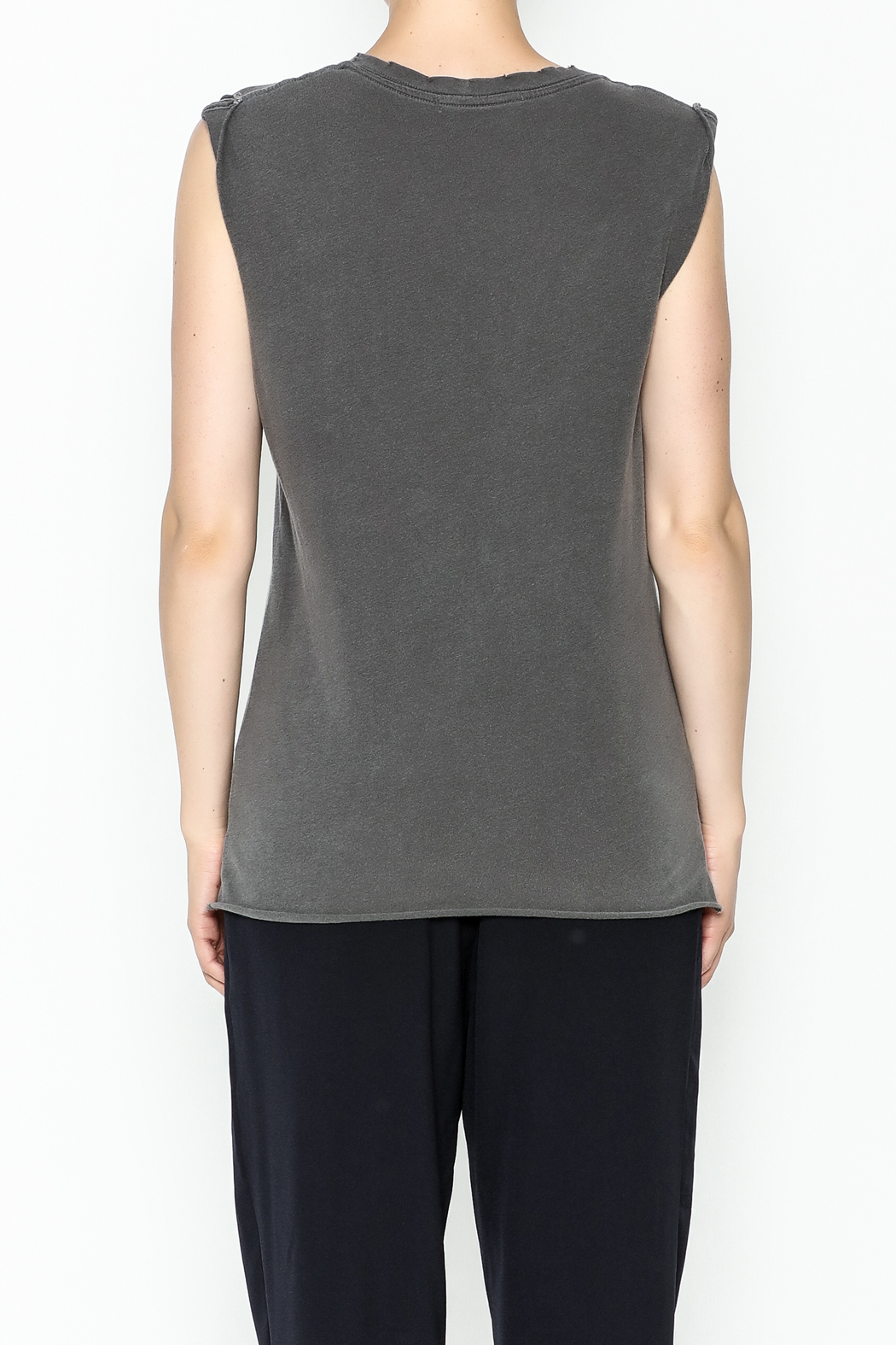 Project Social T Seed Muscle Tank Top - Back Cropped Image