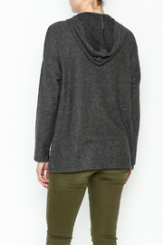 Project Social T Carre Knot Neck Hoodie - Back cropped