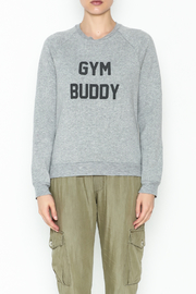 Project Social T Gym Buddy Sweater - Front full body