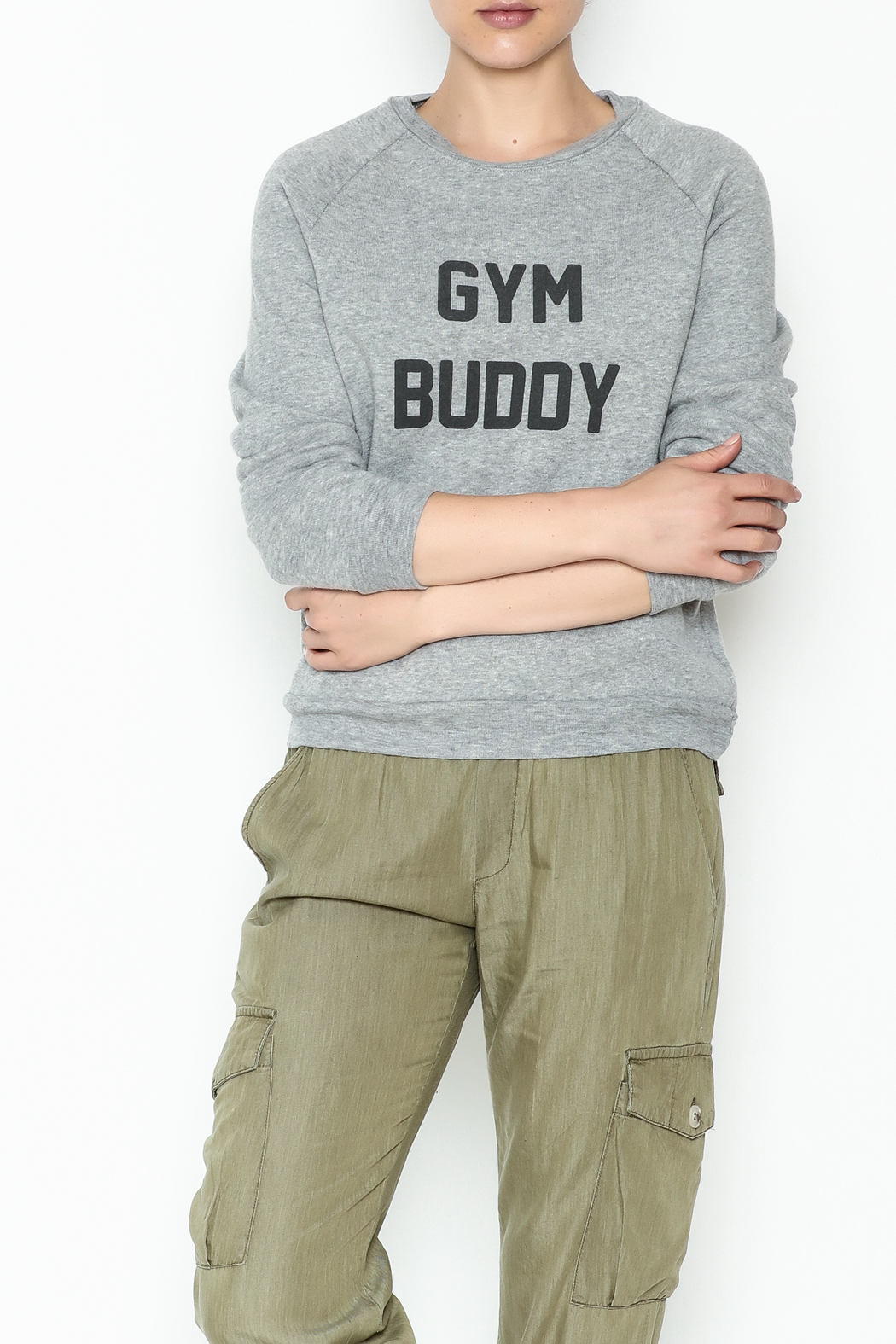 Project Social T Gym Buddy Sweater - Main Image