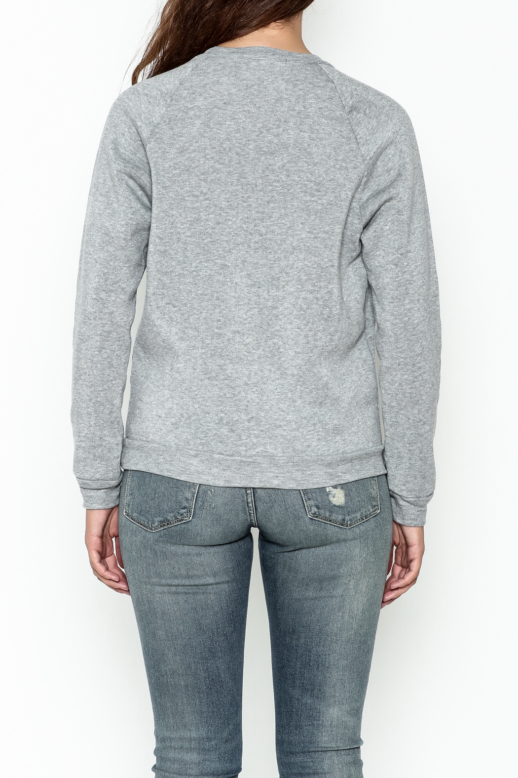 Project Social T Milo Sweatshirt - Back Cropped Image