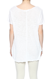 Project Social T Raw Edge V-Neck - Back cropped