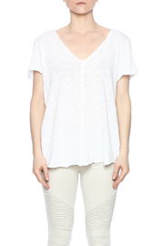 Project Social T Raw Edge V-Neck - Side cropped