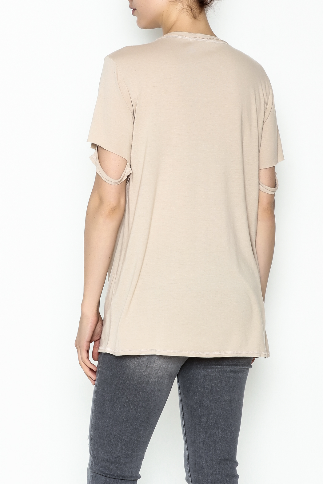 Project Social T Thunder Tee - Back Cropped Image