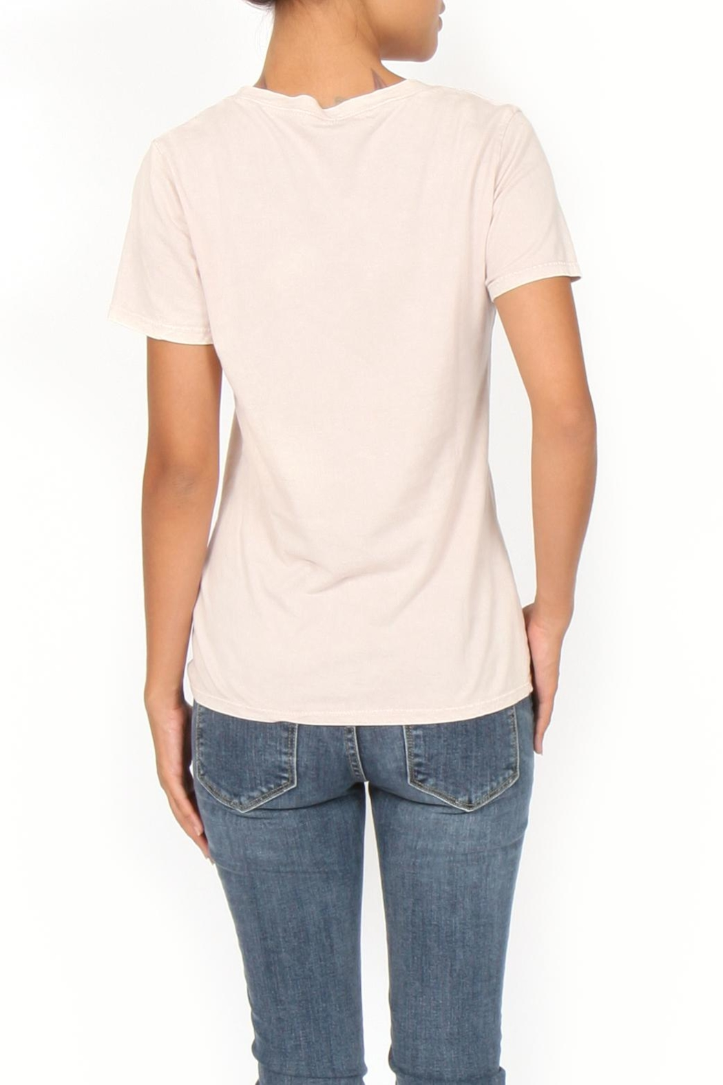Project Social T Billy V Neck Tee - Side Cropped Image