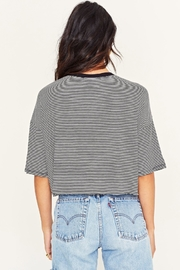 Project Social T Briar Striped Crew - Side cropped