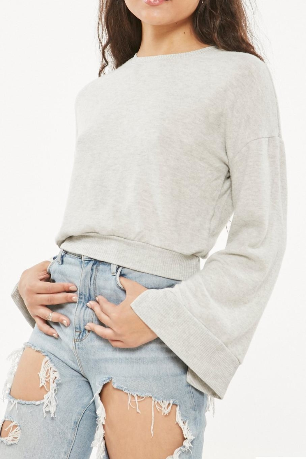 Project Social T Louis Cropped Sweatshirt - Main Image