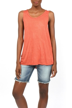 Project Social T Raglan Raw-Edge Tank - Product List Image
