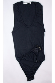 Project Social T Yvette Sleeveless Bodysuit - Front cropped