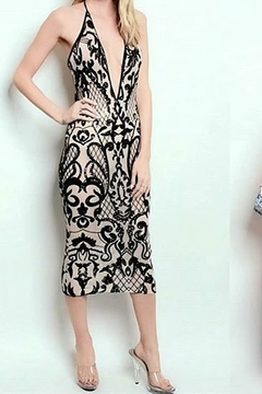 Banjul Prom or Party Dress Lace Pattern - Product List Image