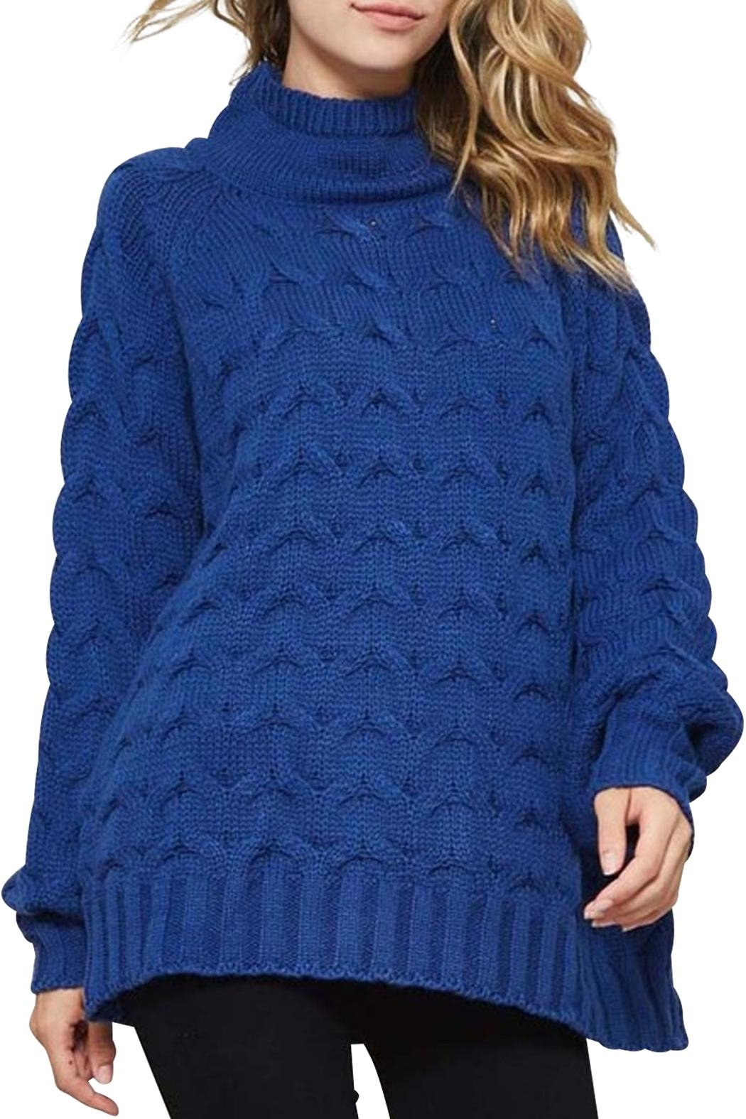 Promesa Cable Knit Sweater - Main Image