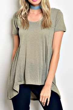 Shoptiques Product: Flared Swing Top
