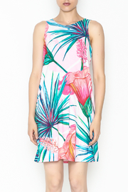 Promesa Floral Shift Dress - Front full body