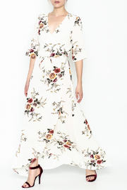 Promesa Floral Wrap Dress - Product Mini Image