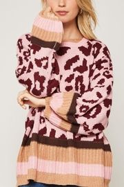 Promesa Leopard Patterned Knit Sweater - Other