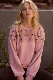 Promesa Mauve Fur Sweatshirt - Product Mini Image