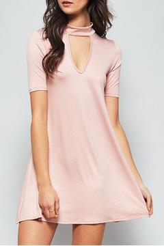 Shoptiques Product: Mock Neck Shirt Dress