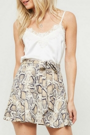 Promesa Printed Flare Skort - Side cropped