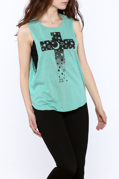 Shoptiques Product: Sleeveless Mint Top