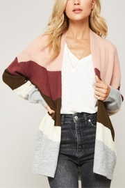 Promesa Soft Striped Cardigan - Product Mini Image