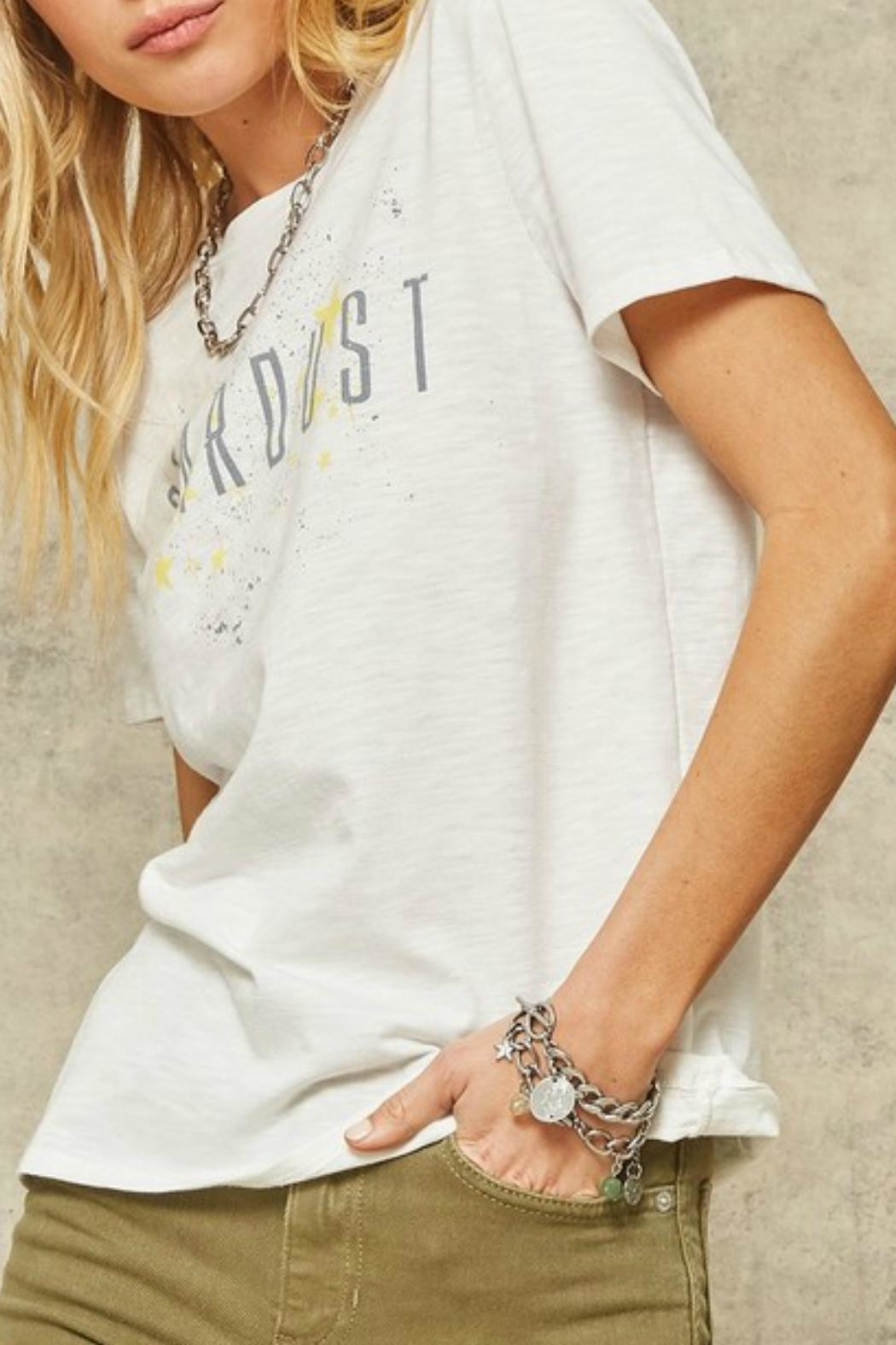 Promesa Stardust Graphic Tee - Side Cropped Image