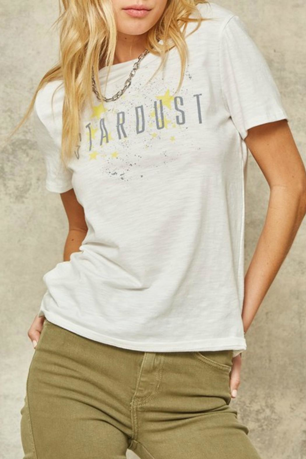 Promesa Stardust Graphic Tee - Back Cropped Image