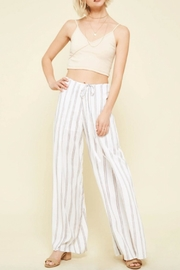 Promesa Striped Wrap Pant - Product Mini Image