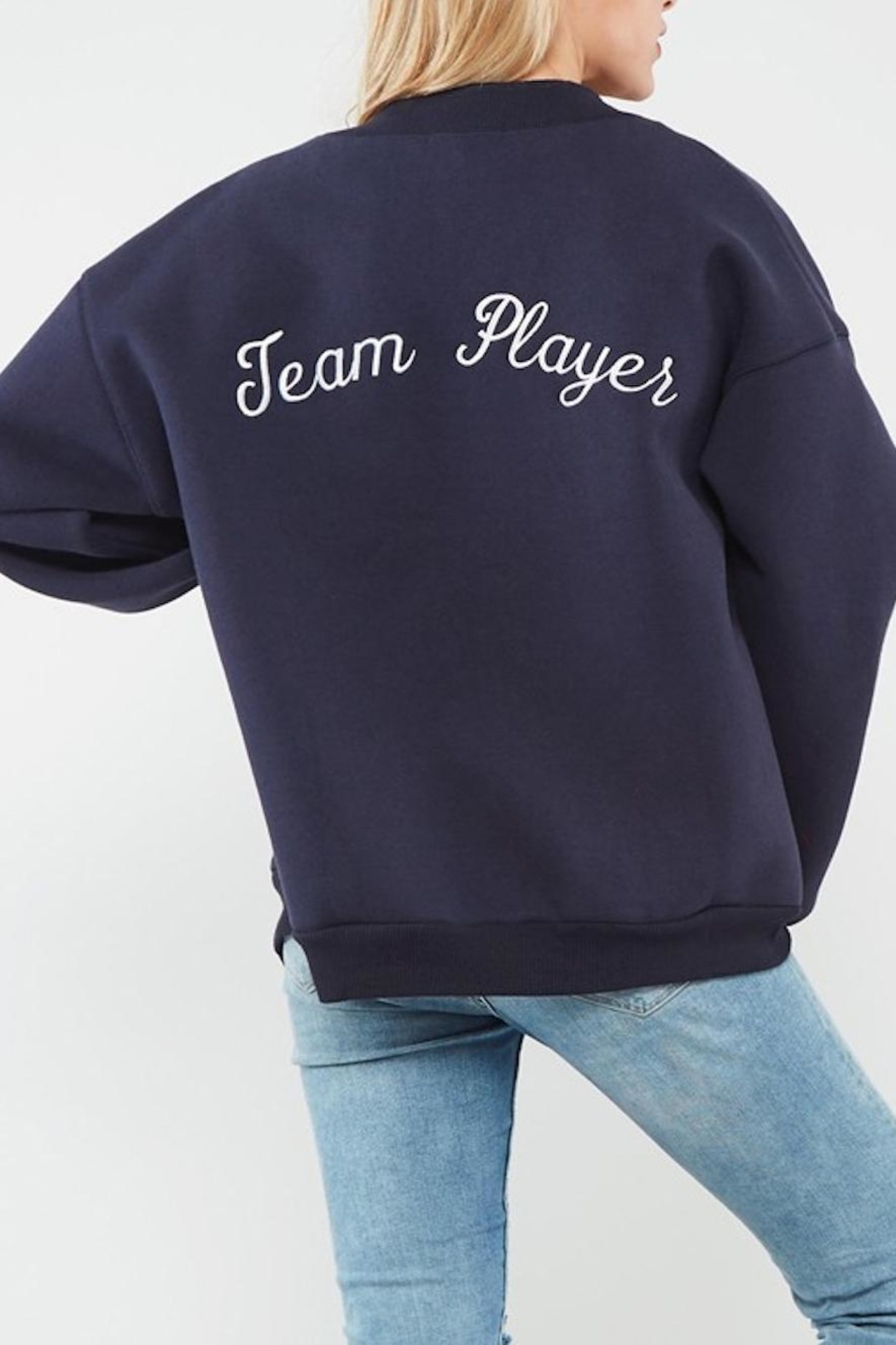 Promesa Team Player Bomber Jacket - Front Full Image