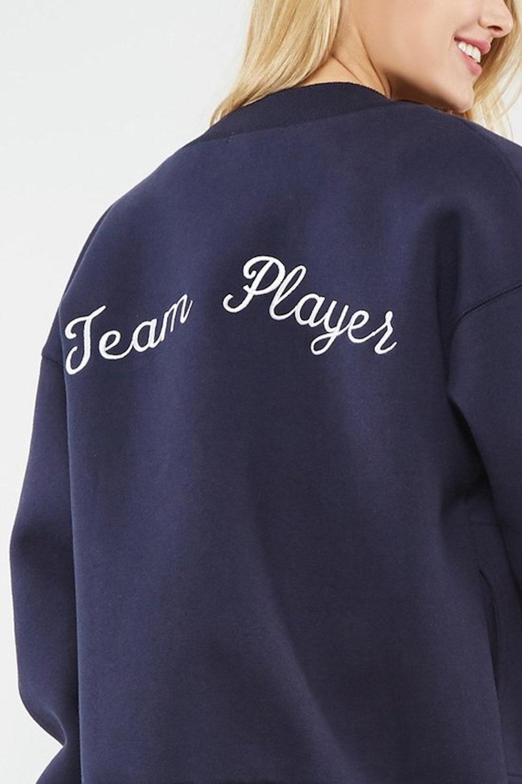 Promesa Team Player Bomber Jacket - Front Cropped Image