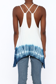 Promesa USA Dip Dyed Swing Top - Back cropped