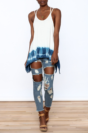 Promesa USA Dip Dyed Swing Top - Front full body