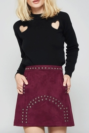 Promesa Vegan Suede Skirt - Product Mini Image