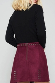 Promesa Vegan Suede Skirt - Front full body