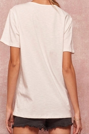 Promesa White Graphic Tee - Side cropped