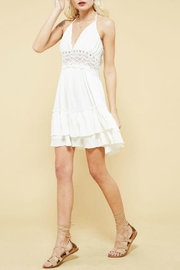Promesa USA Backless Lace Dress - Product Mini Image